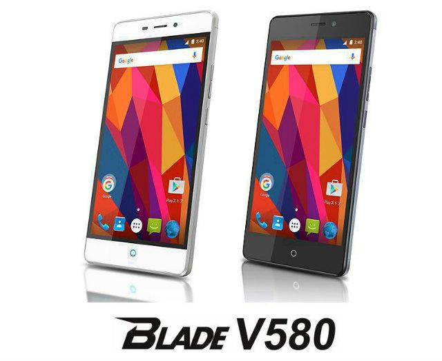 ZTE ジャパン、指紋認証/フルHDディスプレイ搭載のスマートフォン「ZTE Blade V580」を3月28日に2.7万円で発売へ