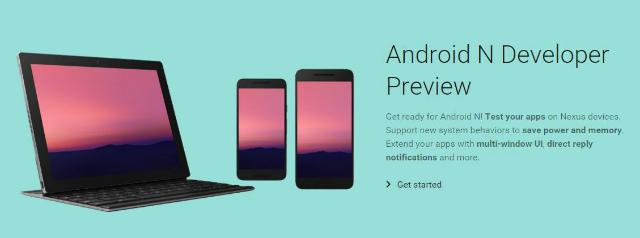 Android N Developer Preview版の主な内容まとめ