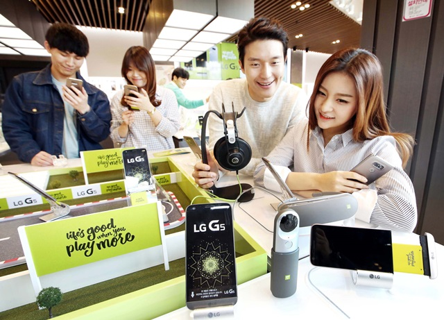 LG、「LG G5」のローンチは3月31日から韓国より(約8.1万円)発売
