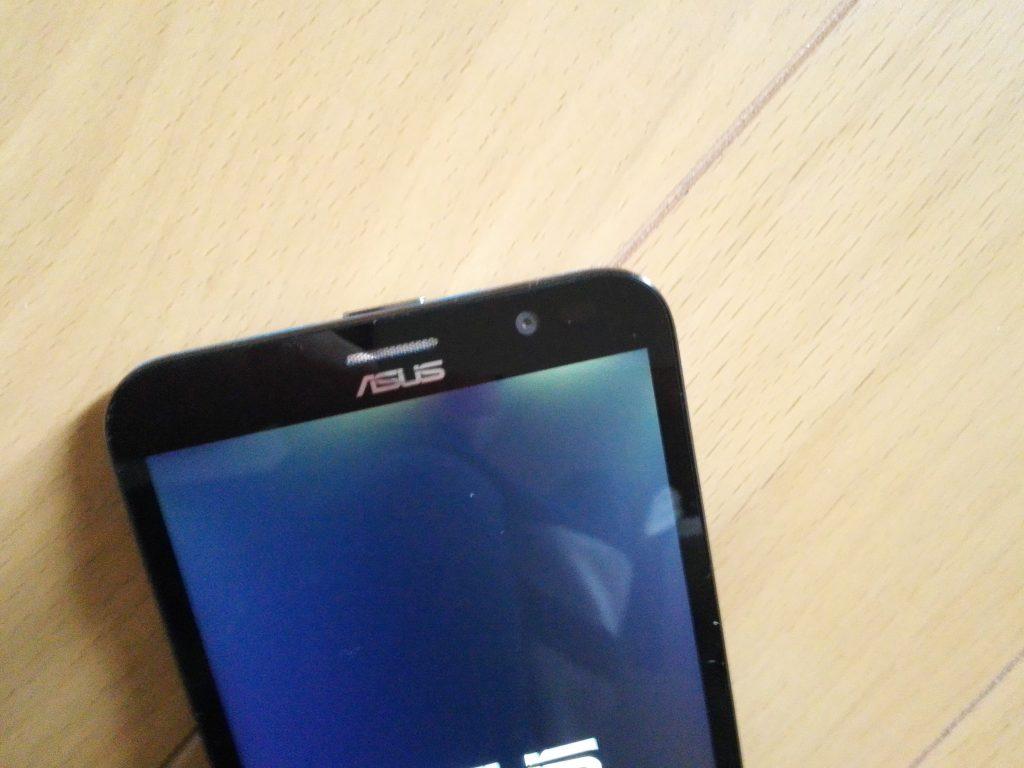 【追記】ZenFone Goに光漏れが?個体差?不具合?どっち?