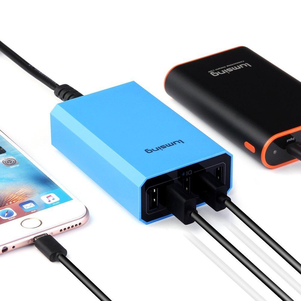 Lumsing®、2ポート/5ポートの急速充電器に対応したACアダプタ 2種をAmazonで取り扱いへ