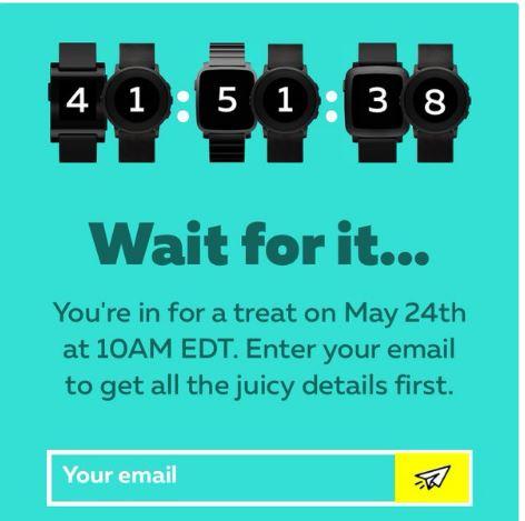 Pebble、新型のスマートウォッチを5月24日に発表か?