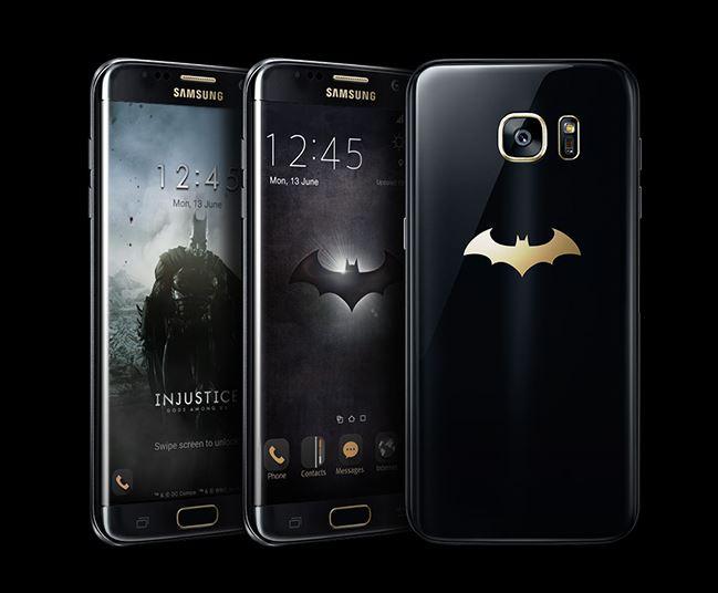 Samsung、バットマン仕様の「Galaxy S7 edge Injustice Edition」を発表