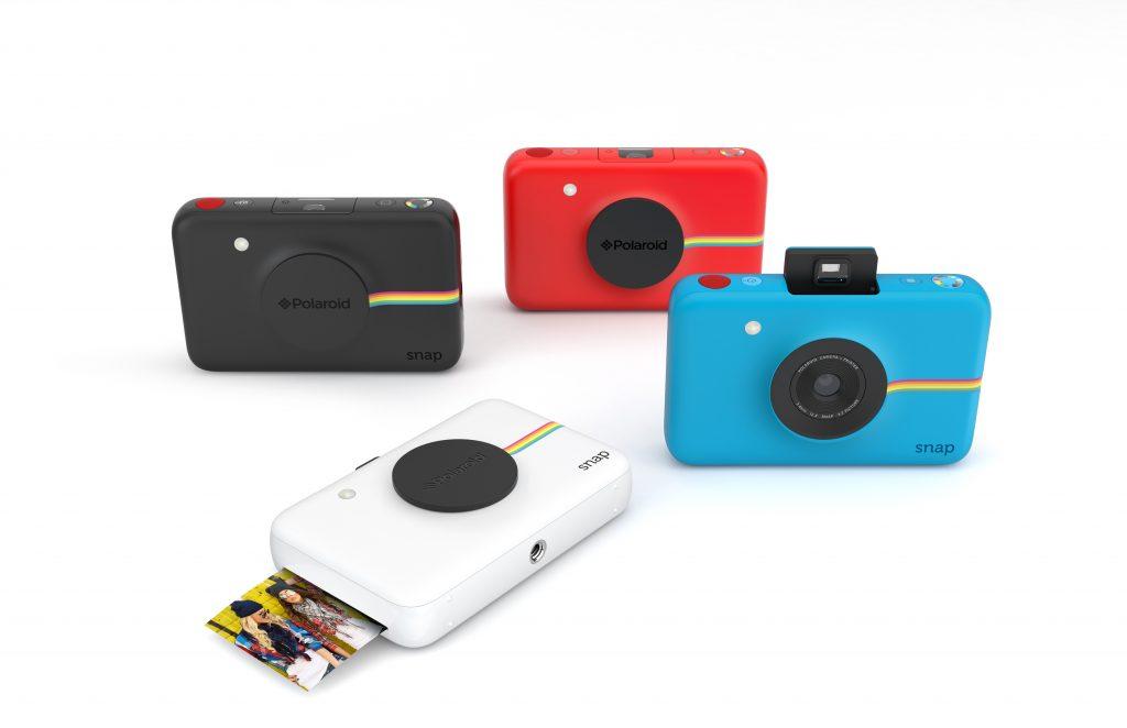 Polaroid、インスタントデジタルカメラ「Polaroid Snap」などを6/10から発売中