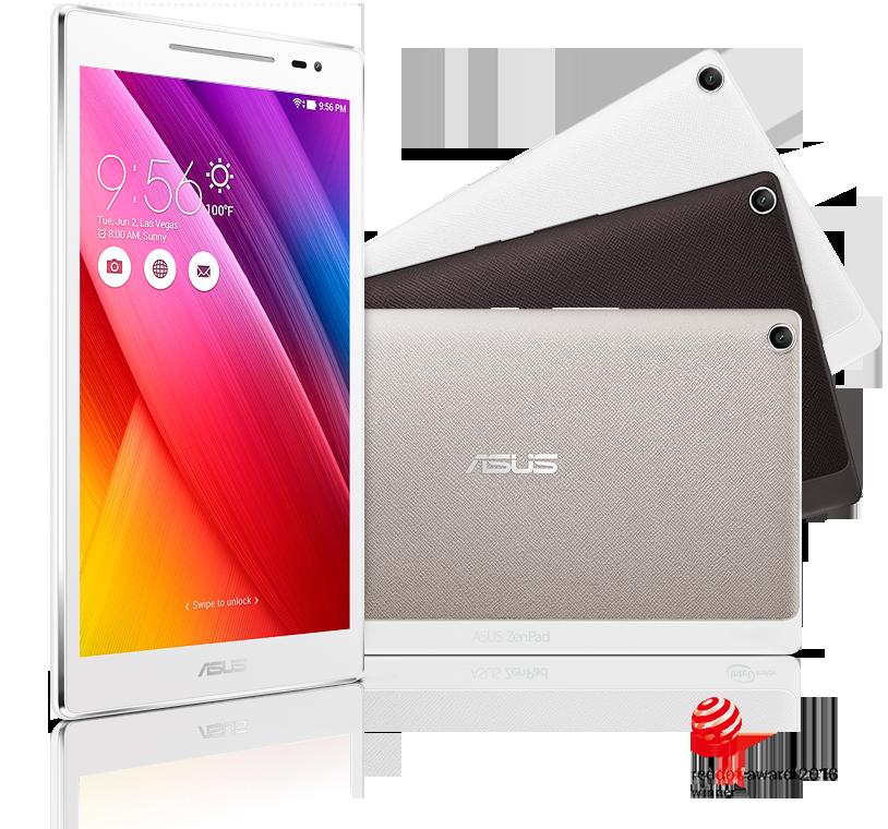 ASUS、LTE/音声通信に対した「ZenPad 8.0 Z380KNL」やWi-Fiモデル「ZenPad 8.0 Z380M」を7月下旬に発売へ