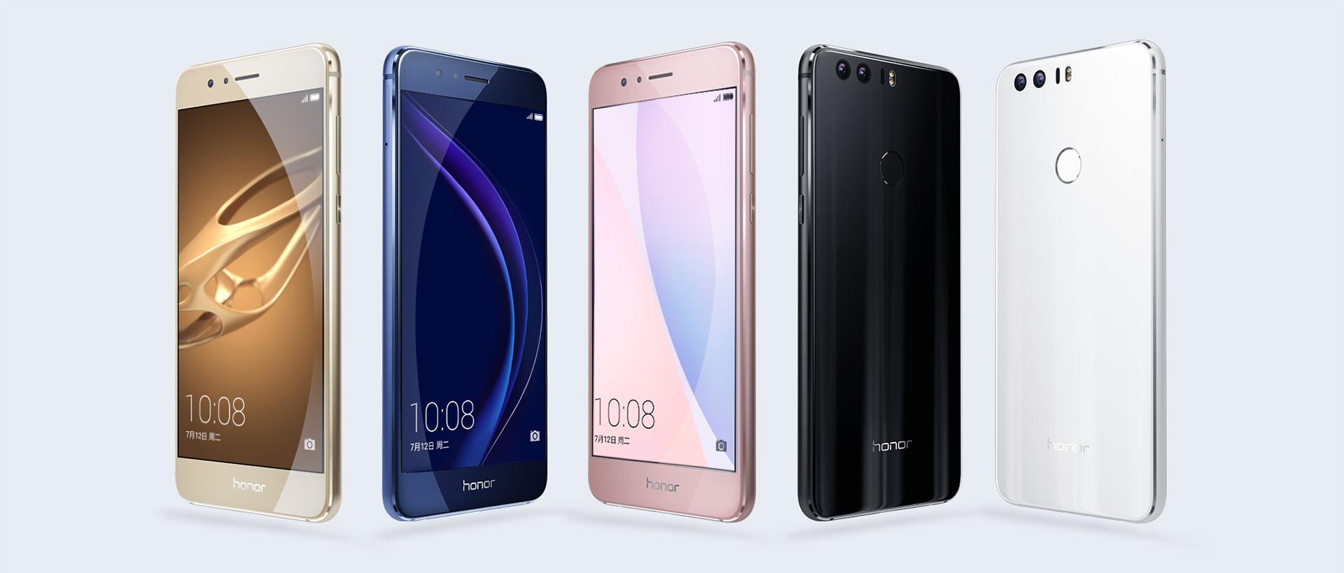 Huawei、デュアルカメラ搭載「Honor 8」を発表