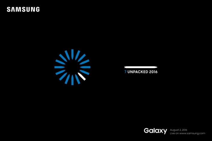 Samsung、「Galaxy Note7」を8月2日に発表へ