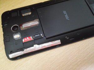 ZenFone GO のGPSの測位がアルミホイルだけで改善された話