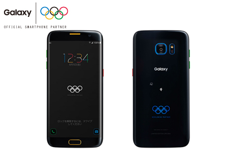 Samsung、Galaxy S7 edge Olympic Games Editionが7月19日よりauでも