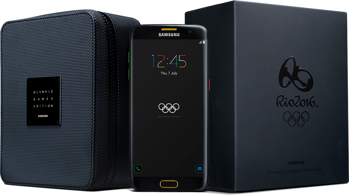 ドイツでGalaxy S7 edge Olympic Games Limited Editionが879€(約9.7万円)で発売