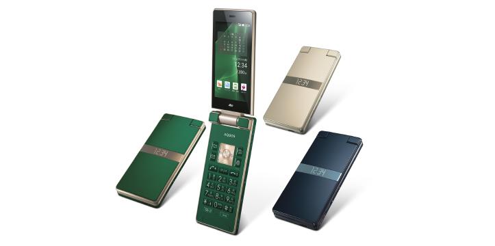 au KDDI、ガラホ「AQUOS K SHF33」を7月6日に発売-エモパーが利用可能