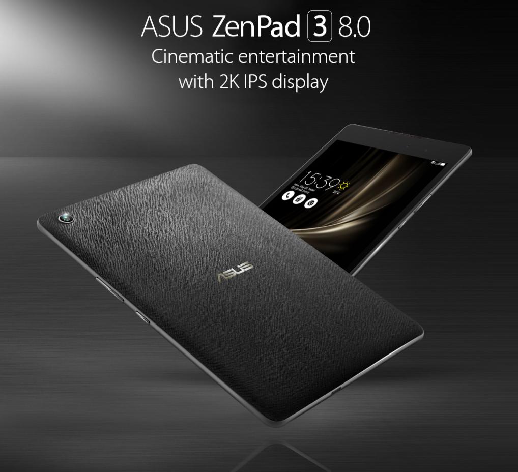 ASUS ジャパン、LTE通信が可能な「ZenPad 3 8.0(Z581KL)」を発表