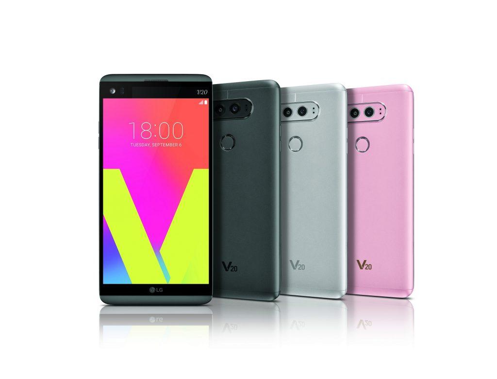 LG、セカンドスクリーン搭載の5.7インチスマホ「LG V20」を発表