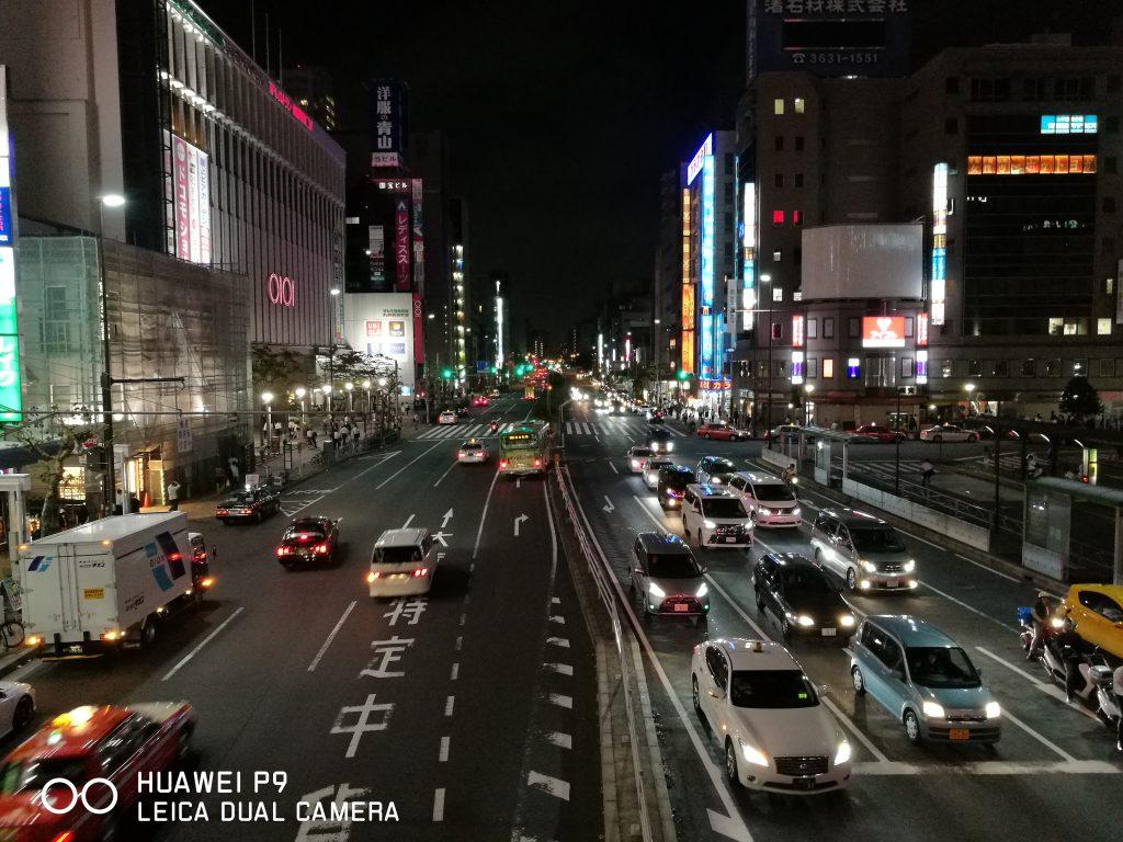 夜 錦糸町駅