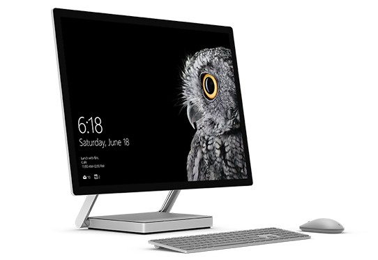 Microsoft、All in One PCの「Surface Studio」を発表、最上位モデルは4199ドル(約44万円)