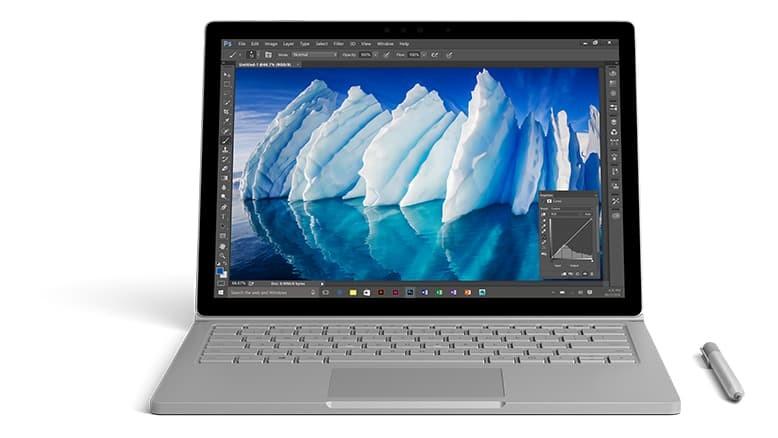 Microsoft、新型Surface Bookを発表、バッテリー時間が16時間に