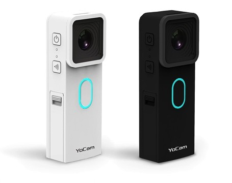 Go Proを超える?世界最小・最軽量のウェアラブルカメラ「YoCam」を販売へ