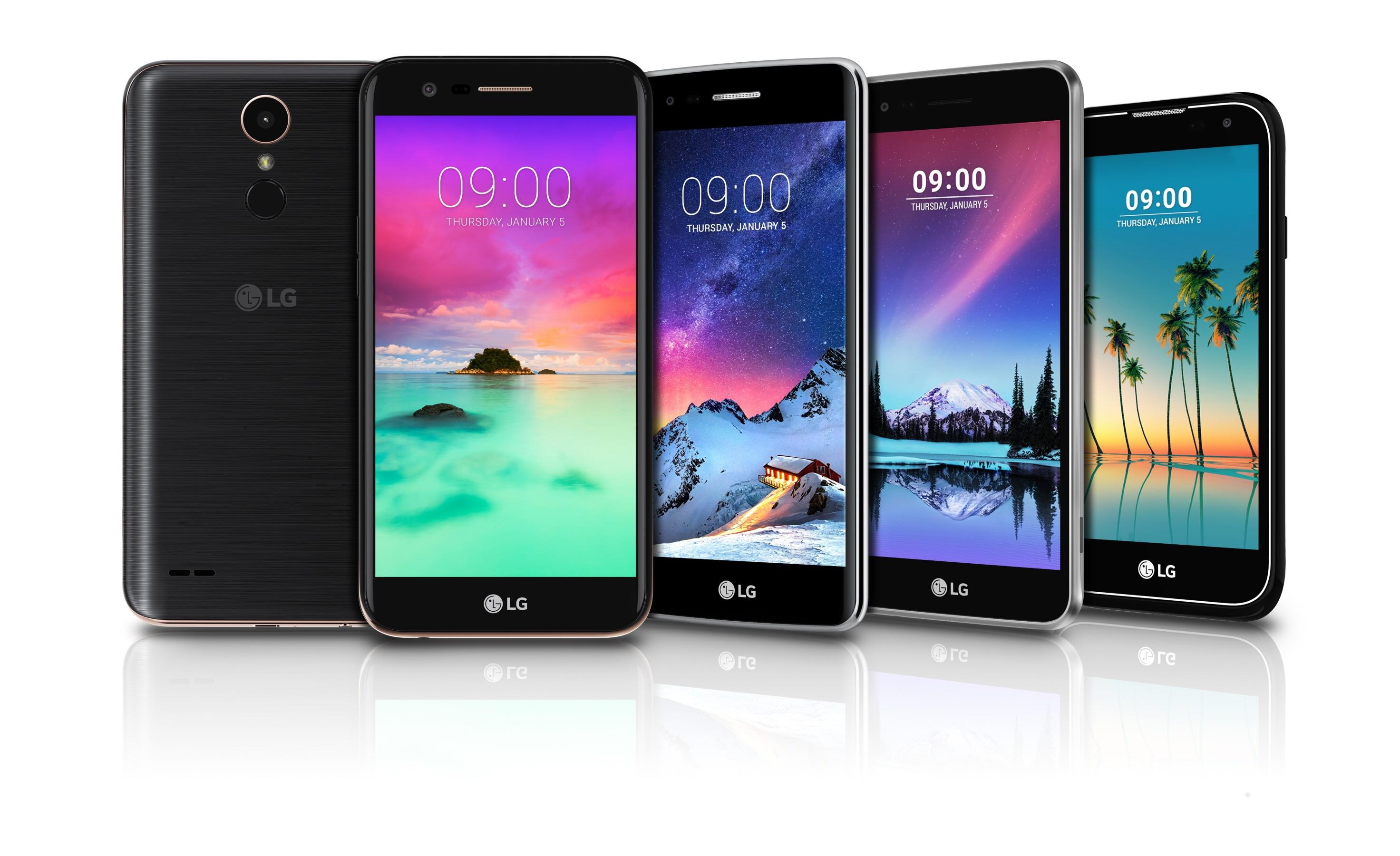 LG、Kシリーズスマホの新モデル「K10,8,4,3」を発表