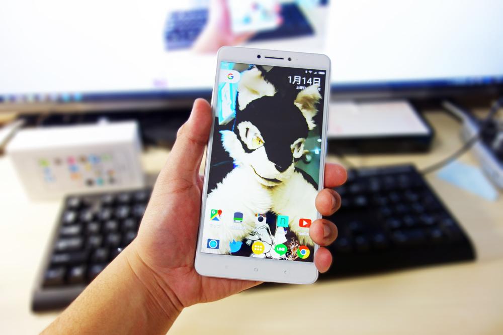 【レビュー】Xiaomi Mi Maxの開封とファーストインプレッション