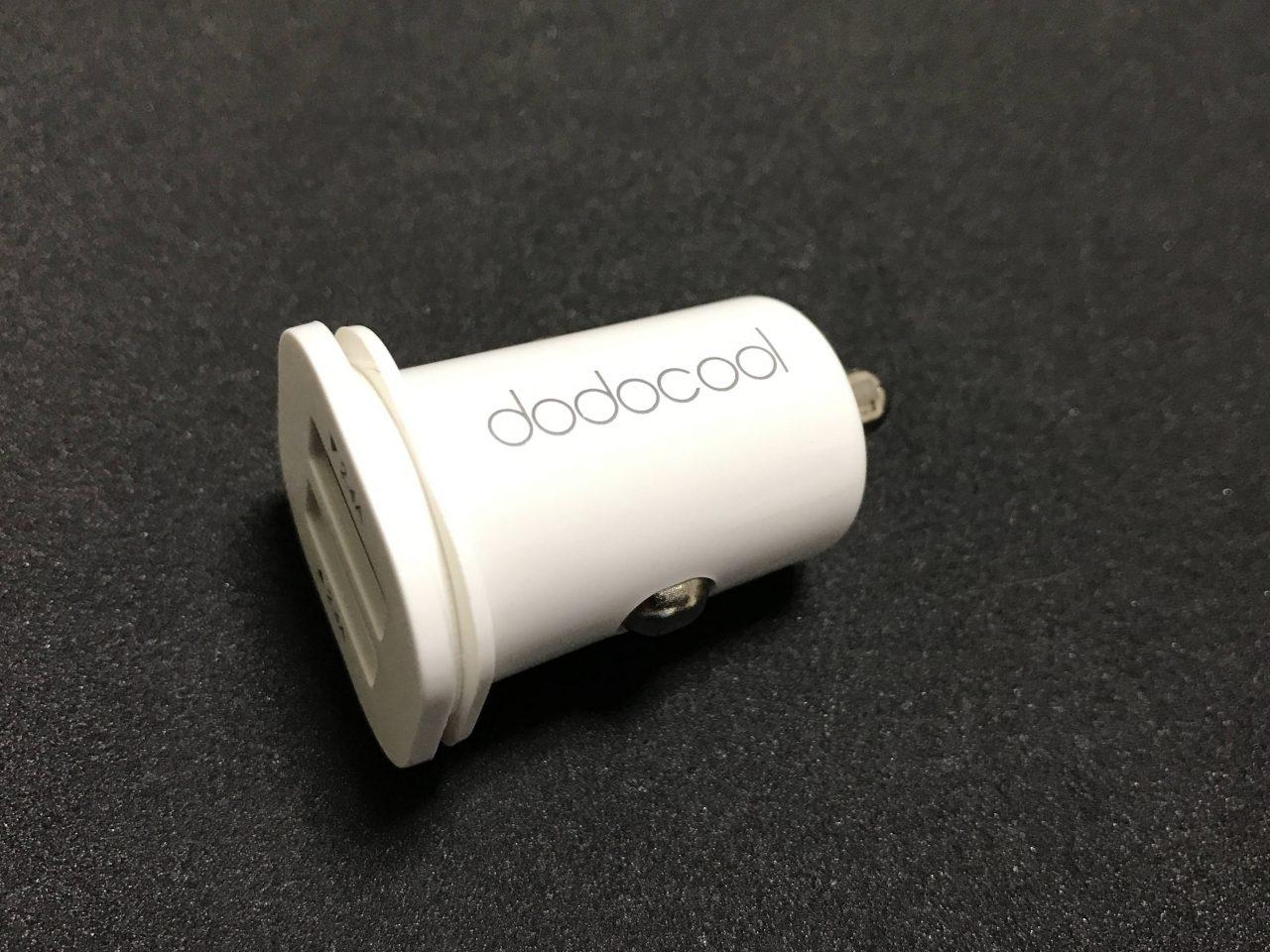 これは超ミニ! dodocool USBカーチャージャー レビュー
