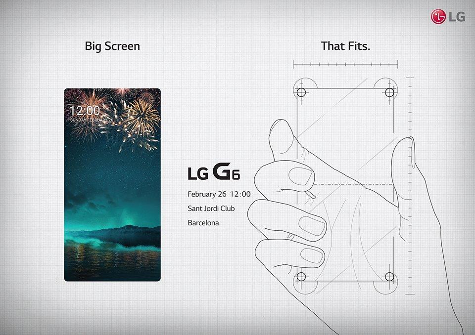 LG、Facebookで「LG G6」のティザーを公開 ーベゼルレス設計が特徴か