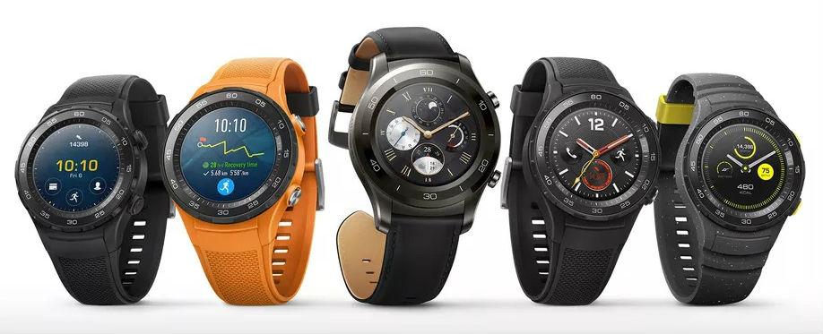 Huawei、LTE機能搭載のスマートウォッチ「Huawei Watch 2 / Classic」を発表