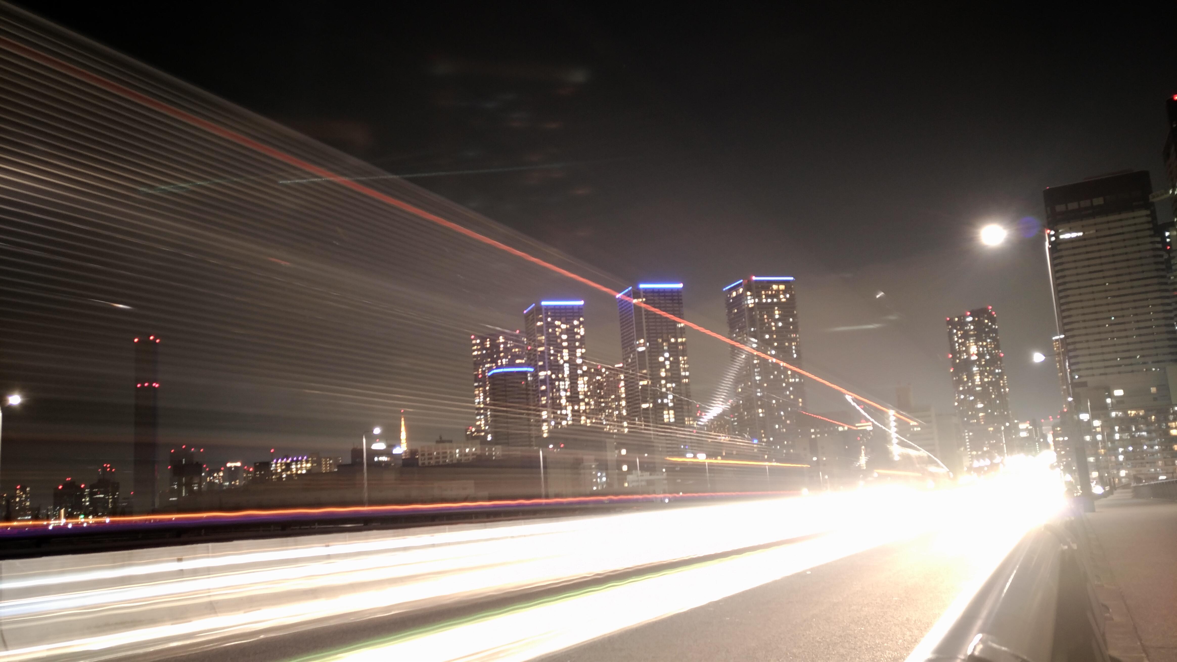 ZenFone 3で綺麗に夜景を撮るための方法と作例