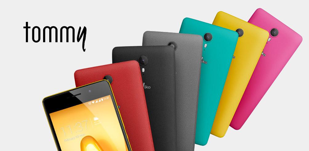 Wiko、スマートフォンTommyを発表。2月25日より14,800円で販売開始。