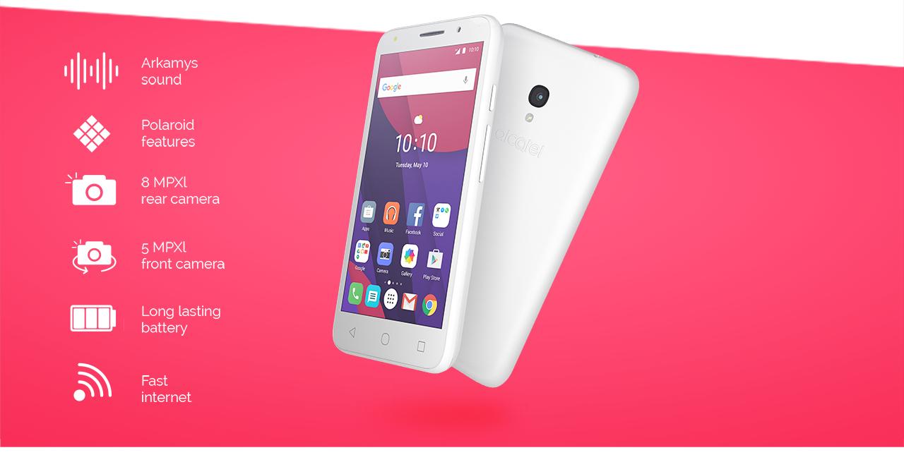 イオンモバイル、TCL 「Alcatel PIXI 4」を3月中旬に発売へ