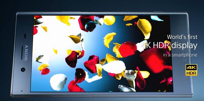ソニーモバイル、4K HDRディスプレイ搭載の「Xperia XZ Premium」を発表