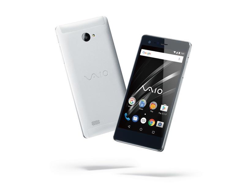 VAIO Phone BizをAndroidに変えた「VAIO Phone A」(24,800円)を発表
