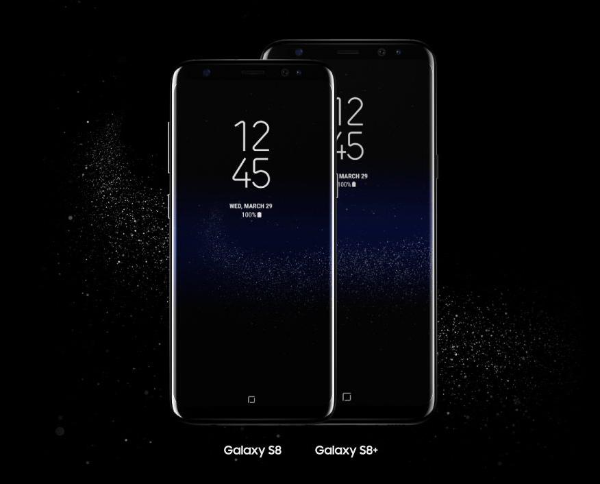 サムスン「Galaxy S8 / S8+」発表、両者の違いは画面サイズとバッテリー容量?
