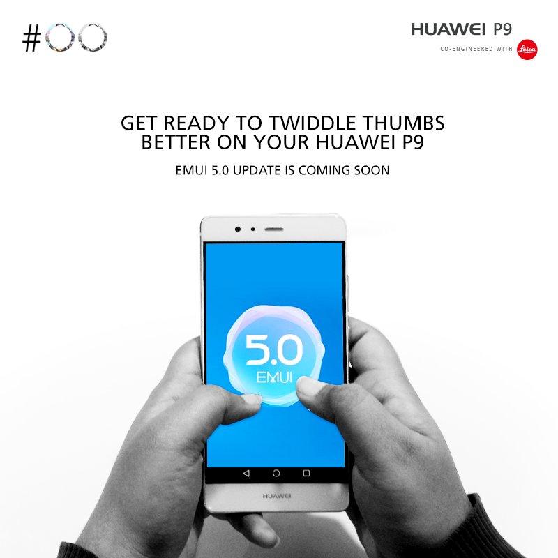 グローバル版「HUAWEI P9」も今月中にAndroid 7.0へ