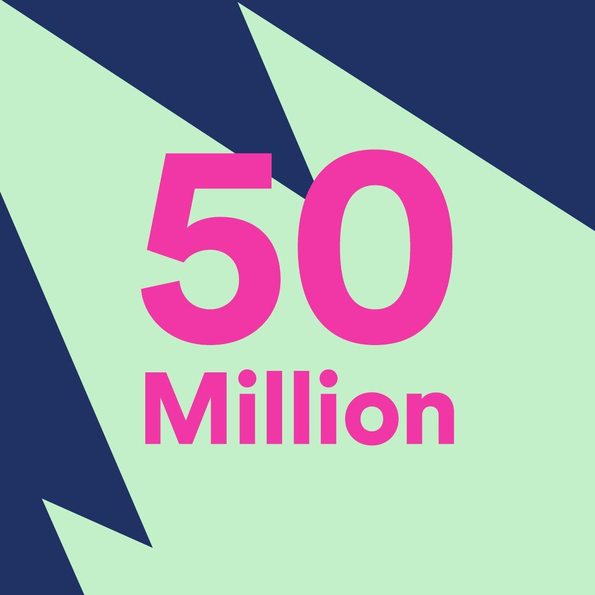 Spotify、有料会員 5,000万人突破