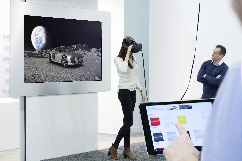 アウディジャパン、実車がなくても車を見れる「Audi VR テクノロジー体験イベント」を実施