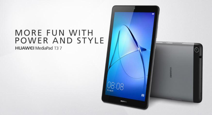 HUAWEI、エントリーモデル7インチタブ「MediaPad T3 7」を発表