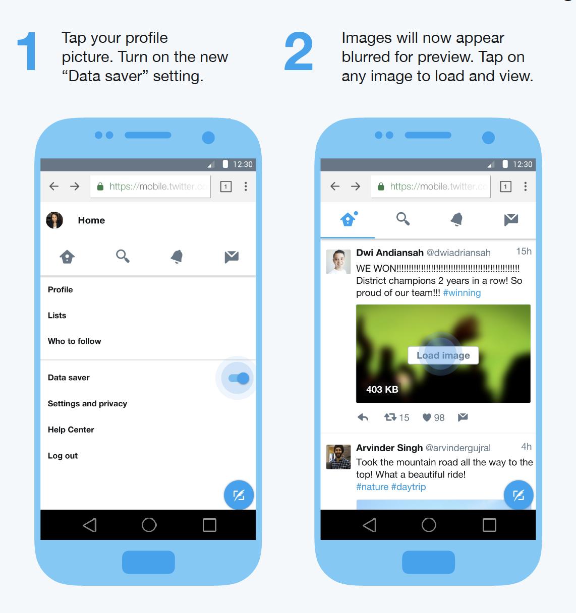 データ通信量を7割も抑えた「Twitter Lite」を発表。ウェブアプリとして提供