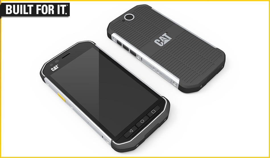 オンキヨーとパイオニア、タフネスなSIMフリースマートフォンCAT S40を発表