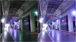 NetLED、岡山県の商店街で「フルカラーIoTスマート照明」の実証実験を開始