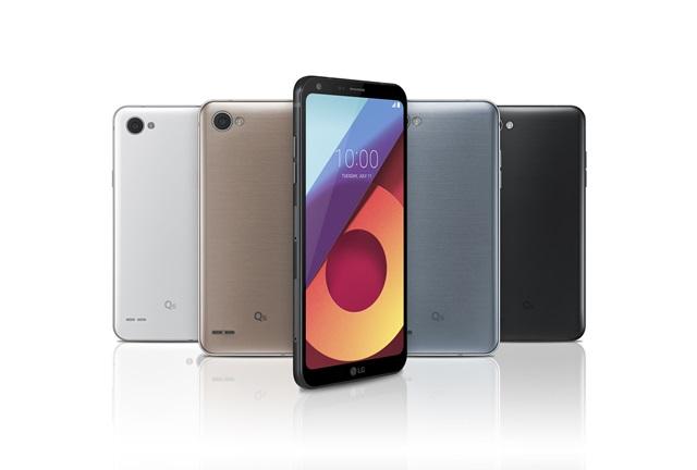 LG、アス比18:9の5.5インチスマホ「LG Q6」と「LG Q6+」を8月以降、韓国で発売