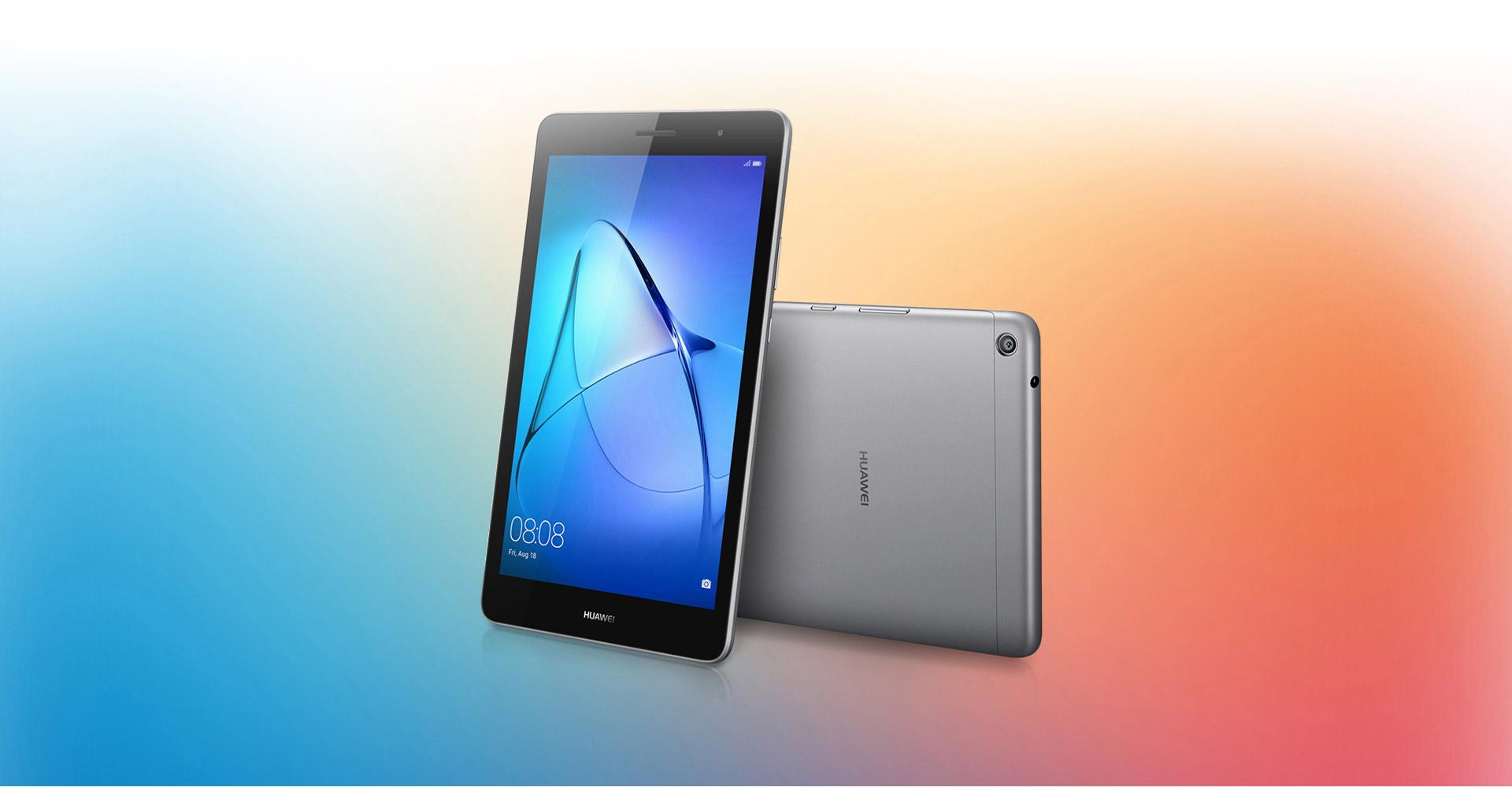 Huawei ジャパン、エントリー向けタブレット「MediaPad T3(KOB-L09/W09)」を8月25日発売