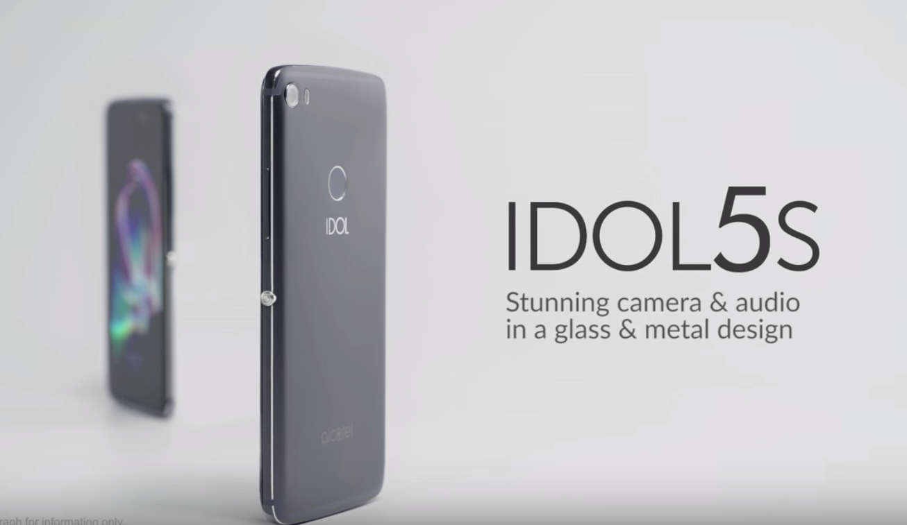 TCLがAlcatelブランド「IDOL 5」「IDOL 5S」を発表
