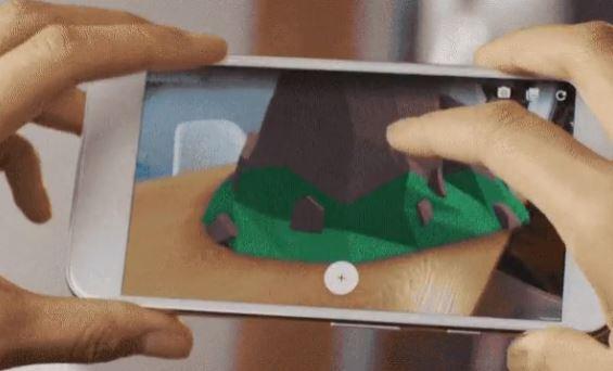 Google ARプラットフォーム「AR Core」の対象に「Galaxy S8+」と「Galaxy Note8」が追加