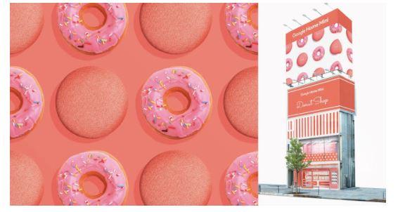 表参道に「Google Home Mini ドーナツショップ」を11月8日~13日までオープン