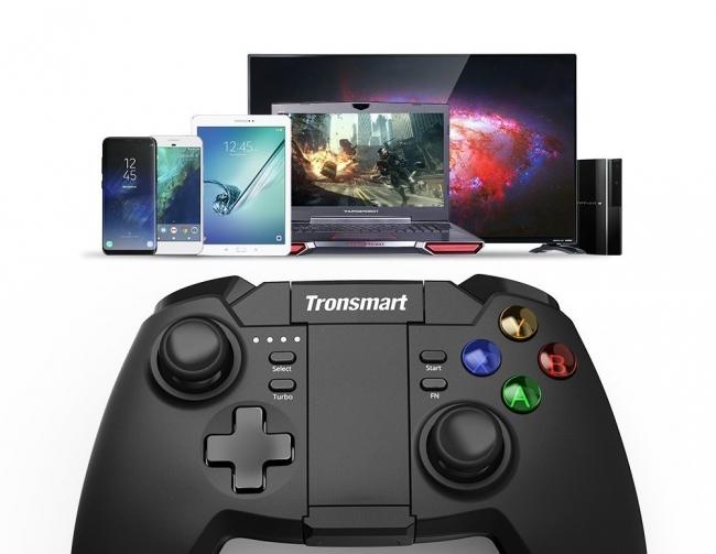 Tronsmart、ワイヤレス接続ゲームコントローラー「Mars G02」を発売