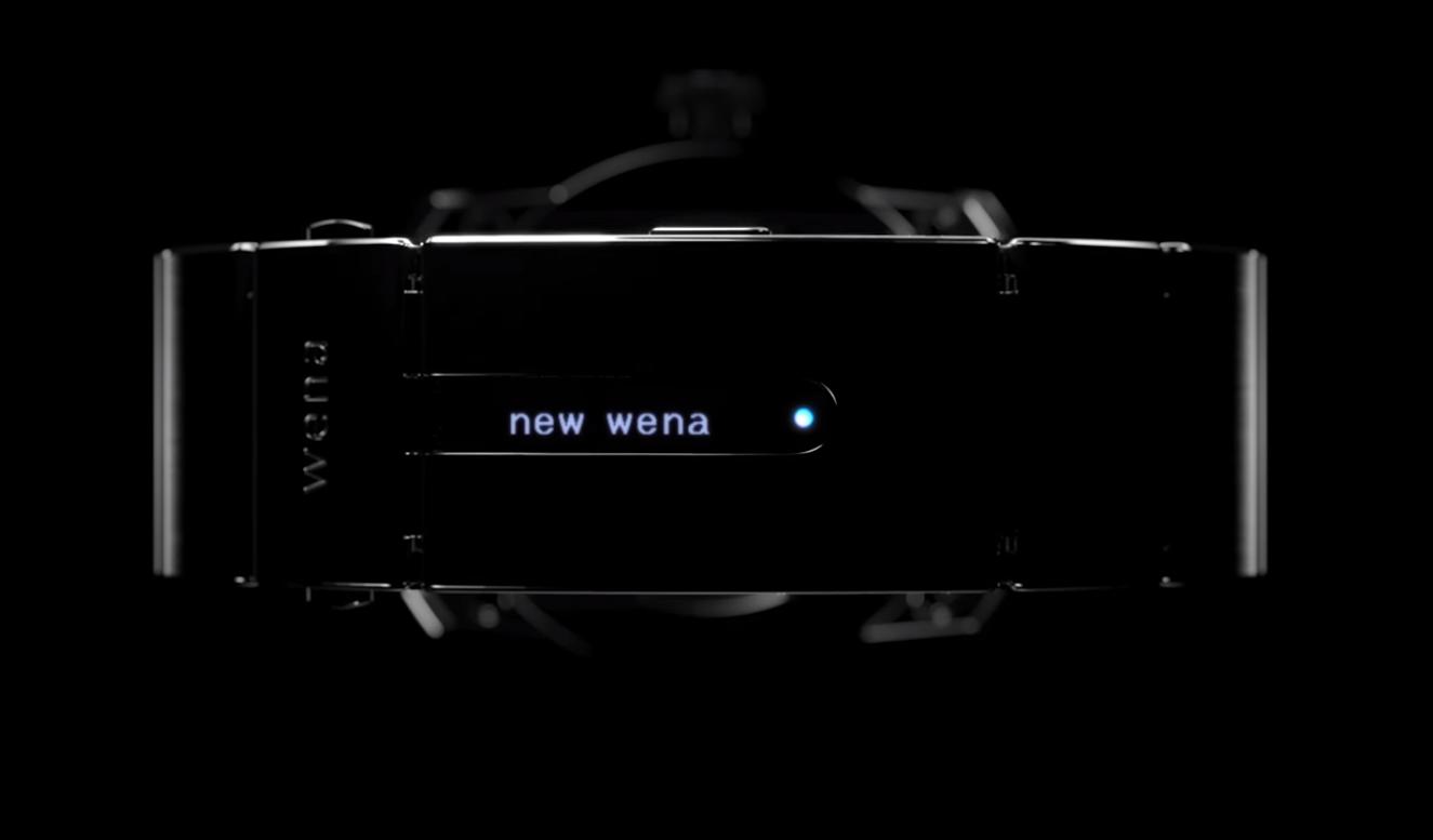 Sony、wena wrist 第2世代モデルのティザーを公開、12月7日に発表