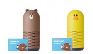 LINE、「Clova」搭載スマートスピーカー「Clova Friends」が12月14日発売