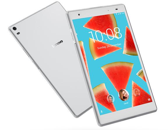 レノボ・ジャパン、指紋センサー搭載8インチタブレット「Lenovo Tab 4 8 Plus」の発売を開始
