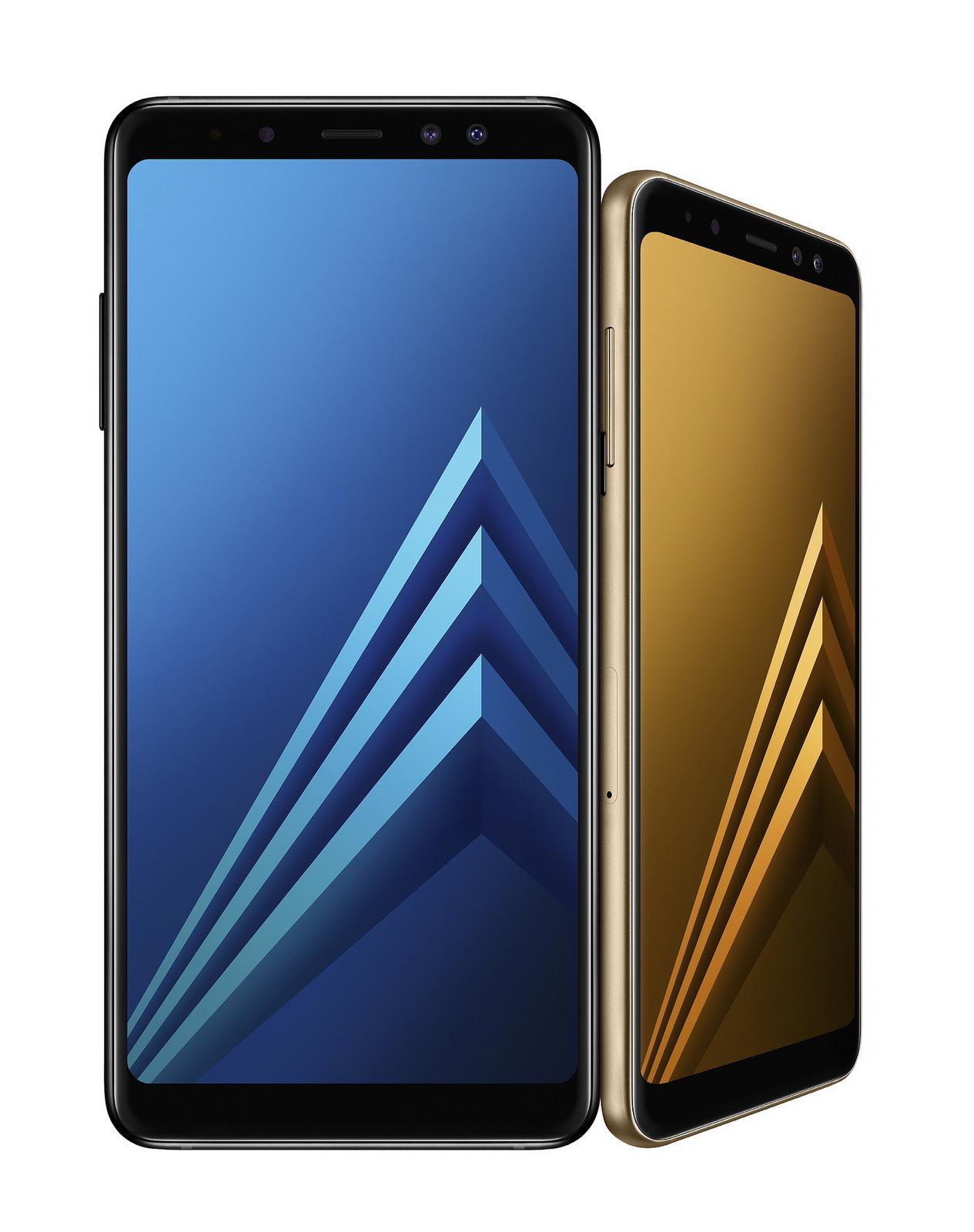 Samsung、InfiniteDisplay採用の「Galaxy A8 / A8+(2018)」を発表、