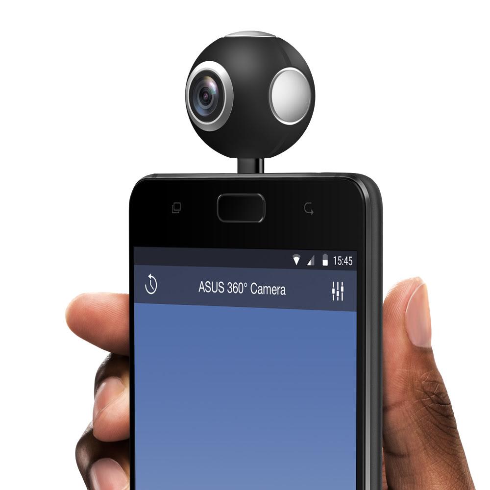 ASUS ジャパン、安価な360度カメラ「ASUS 360° Camera」を12月20日に13,800円で発売へ